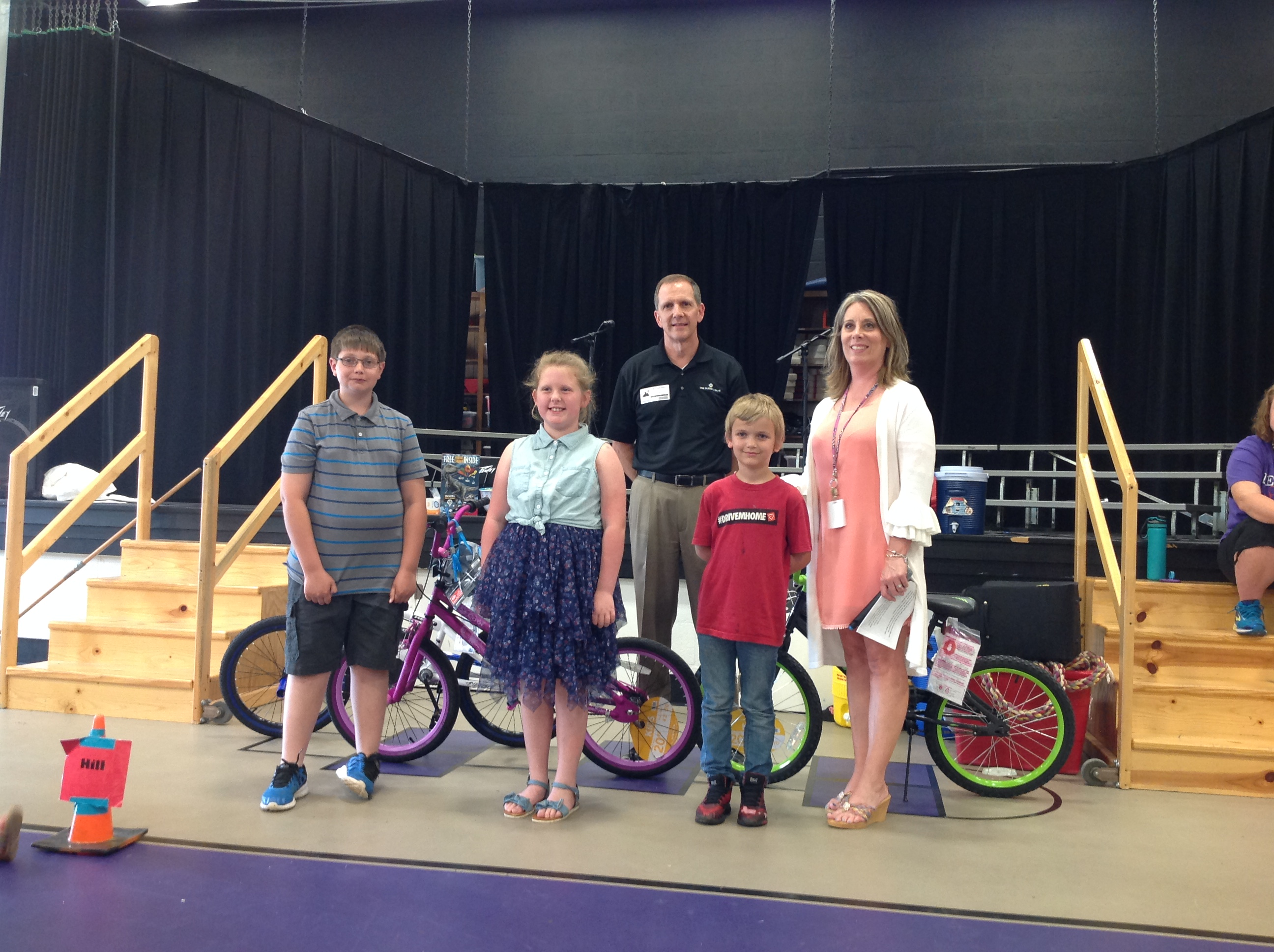 Our 2018 Rotary Club Bicycle Recipients