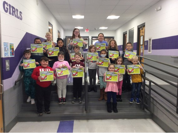 WHE November Students of the Month