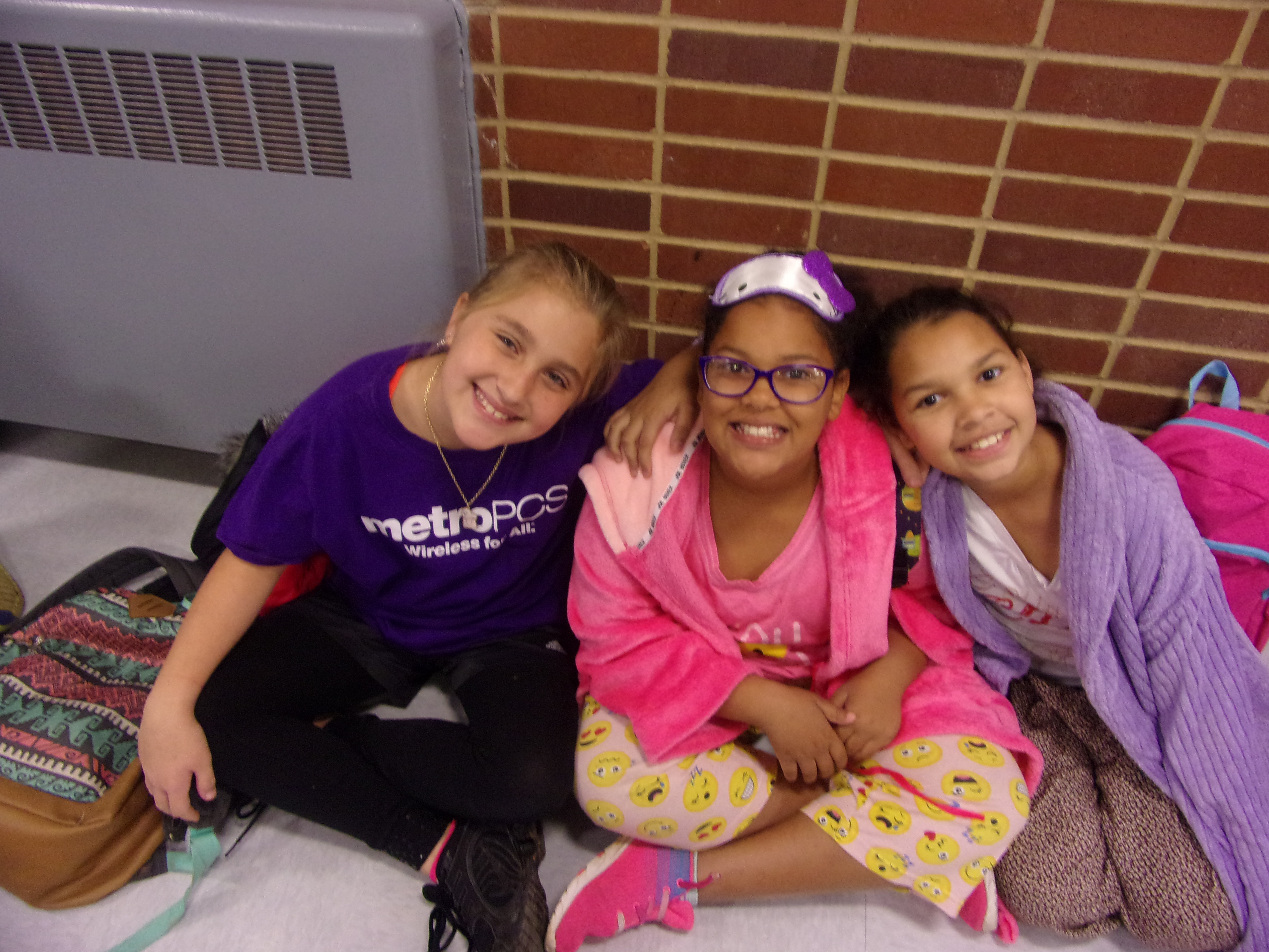 More students Participating in Red Ribbon Week's PJ Day